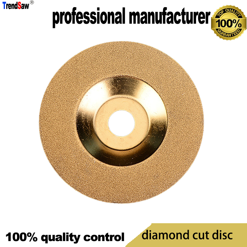15% Off Diamond Blade Saw Bowl Shape For Glasses Cutting Tile Cutting At Good Price And Fast Delivery 100x16