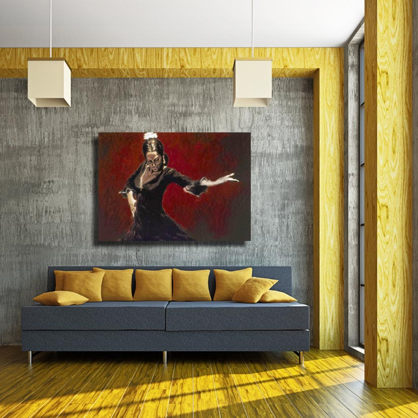 Spanish Oil Painting Living Room Wall Picture Large Canvas Paintings