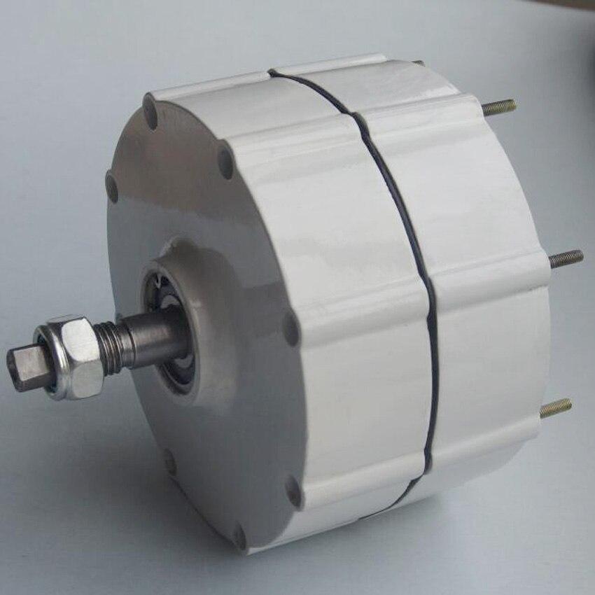 Générateur 300 W avec contrôleur de chargeur de vent 12 V/24 V triphasé AC système de éoliennes à aimant permanent bricolage - 3