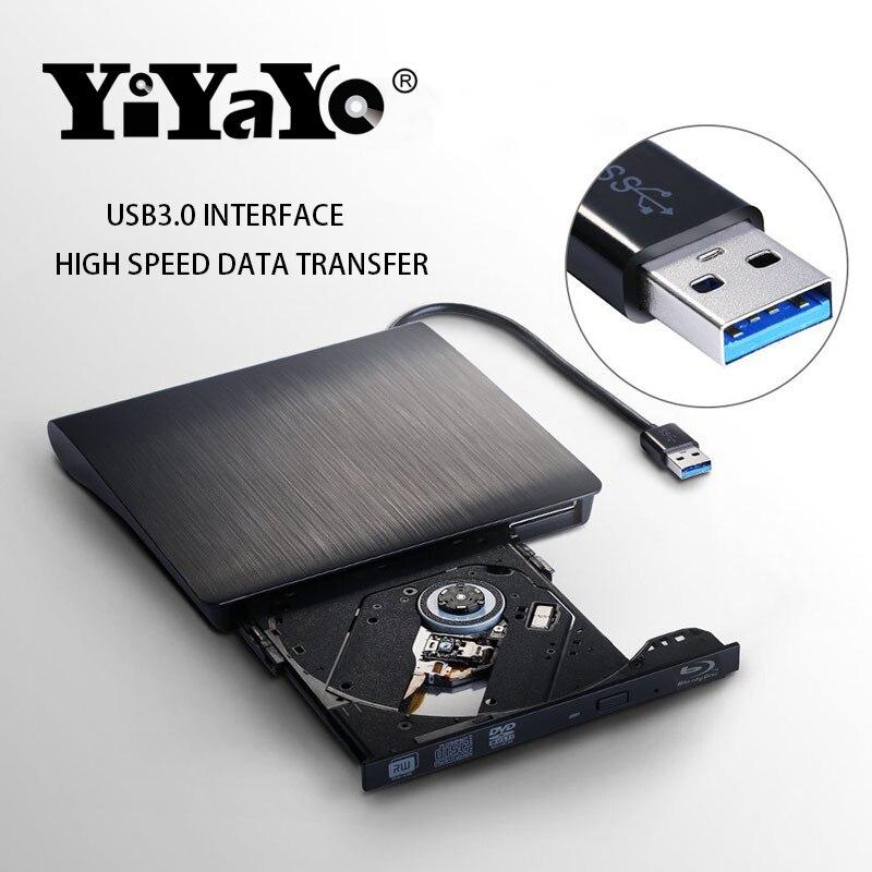 YiYaYo 3D Blu-ray drive Արտաքին USB3.0 CD / DVD RW Burner - Համակարգչային բաղադրիչներ - Լուսանկար 3