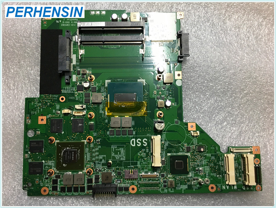 MS 17591 For MSI GE70 Laptop Motherboard SR1Q0 I5 4210 GTX 860M MS 1759 100 WORK