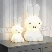 Baby Bedroom Feeding Lamp Miffy Rabbit 30 50 80cm Big Night Light Anti Fall Christmas Gift