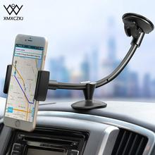 XMXCZKJ Car Phone Dashboard Windshield Holder 12 Inches Long Arm Universal Mount For iPhone X/8/8 Plus Cradle