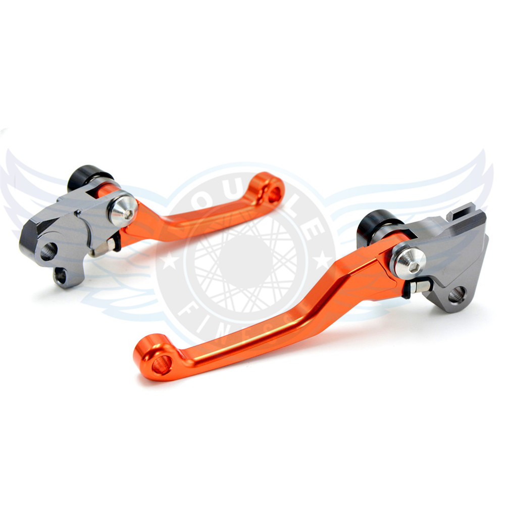 ФОТО motorcycle accessories increased torque of cnc pivot brake clutch levers For KTM 525EXC-R  2005-2006