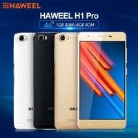 FDD LTE 4 Gam HAWEEL H1 Pro Trung Quốc Nhãn Hiệu Điện Thoại Android 6.0 MTK6735 Quad Core Dual SIM 5.0 inch HD 2300 mAh Điện Thoại Thông Minh Thần Tài Spinner