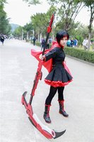 RWBY Crescent Rose Sword Ruby Cosplay Props Scythe Weapon Prop Weapon Custom Made