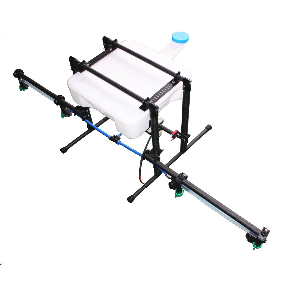 10KG Pesticide spraying injection system sprayer Spray gimbal for Agricultural multi rotor drone gimbal kit pure carbon fiber