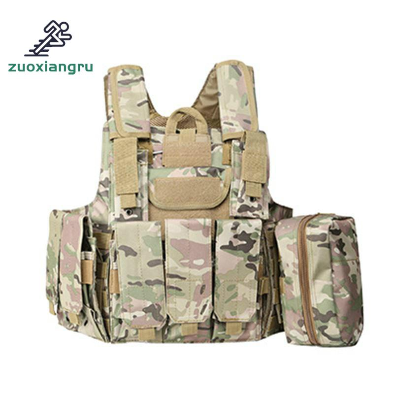 Military Tactical Hunting Vest Police Paintball Wargame Wear Molle Body Armor Hunting Vest Cs Outdoor Products Equipment men s military tactical police equipment vest paintball war game wear body molle armor hunting vest cs combat hunter vest