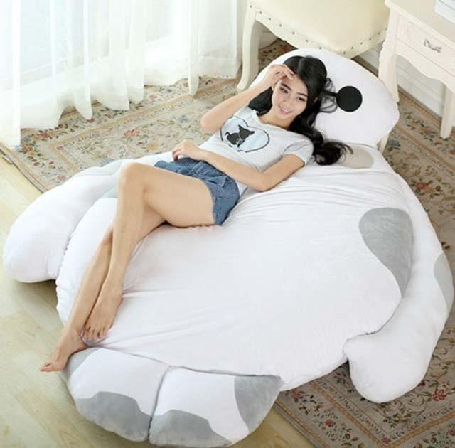 Big Hero 6 Baymax Sleeping Bag Soft Plush Beanbag Bed