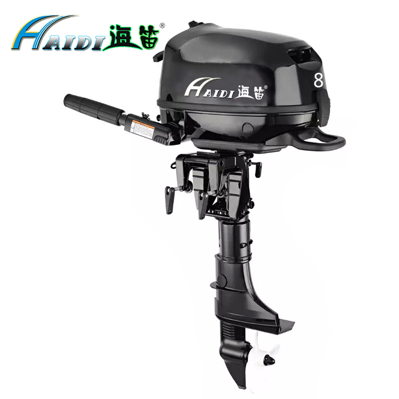Hai Di Wholesale and Retails Water Cooled 4 stroke 8 HP marine engine outboard motor for boats