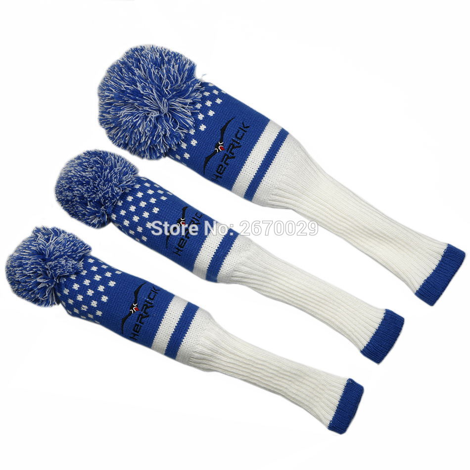 Image 4 - Golf Headcovers 1 Set Wool Knit Golf Clubs Set Fairway Wood Covers Golf Accessories-in Golf Clubs from Sports & Entertainment