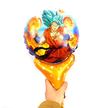 60pcs Dragon Ball its a boy decoration kids birthday parties balloons oh baby toy shower festa infantil decorations adult