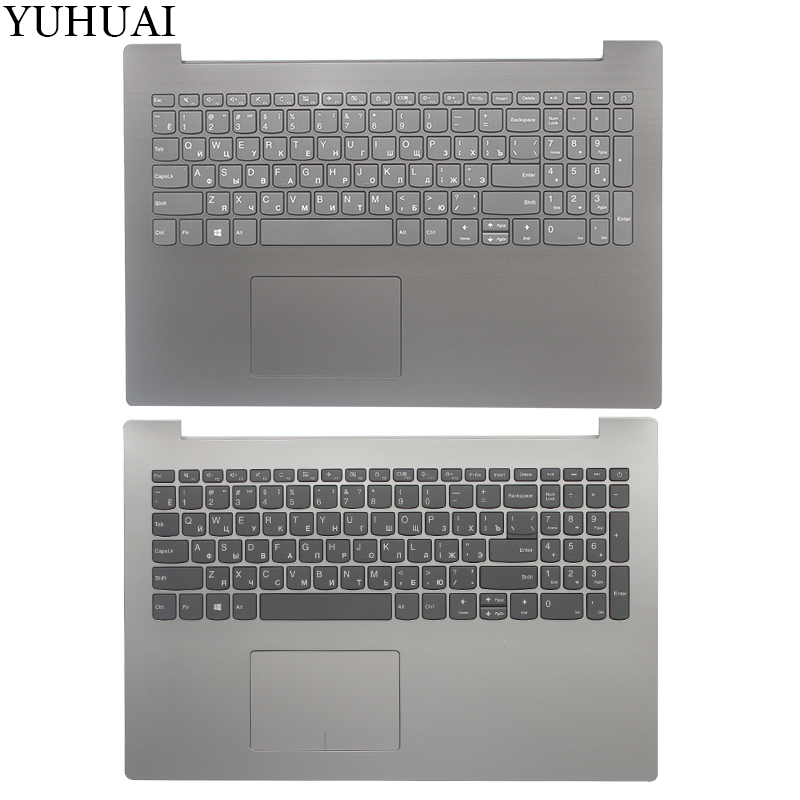 NEW Russian Keyboard For Lenovo IdeaPad 330-15IKB 330-15 Laptop Palmrest Upper Case  Keyboard Bezel Cover With RU Keyboard