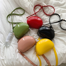 Luxury Brand Designer Female 2019 New Patent Leather Chain Lady Handbag Casual Women Shell Shoulder
