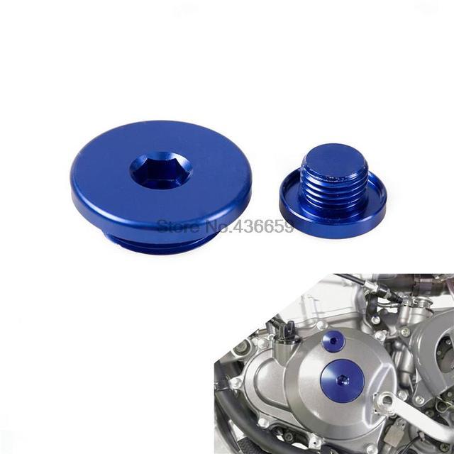 Bike Engine Plug for Yamaha WR250F WR450F 2003 2004 2005 2006 2007-2013 YZ450F 2006 2007 2008 2009 Crankcase Cover Plug