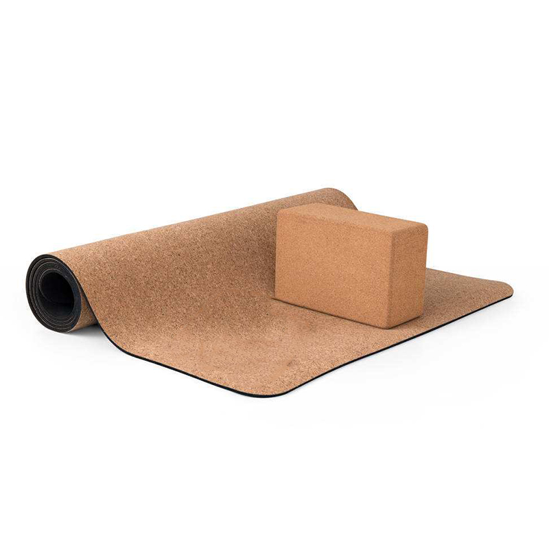 5MM Non-slip Cork Natural TPE Yoga Mats with Yoga Block Fitness Women Pilates Gymnastics Mats Brand Yoga Exercise Pads Sport Mat soumit 5 colors professional yoga socks insoles ballet non slip five finger toe sport pilates massaging socks insole for women