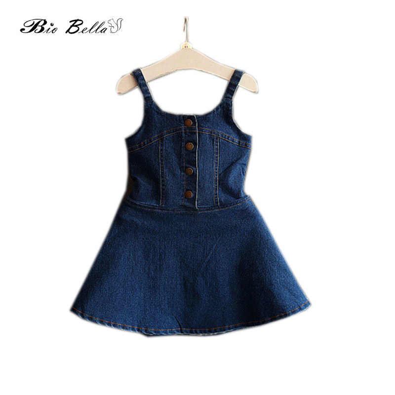 f7f910251ad23 Detail Feedback Questions about Summer Girl Dresses Denim Dress ...