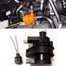 Vw 1,8 T 2,0 T 12 V Motor Autos Kühlwasserkreislauf Wasserpumpe + stecker Fit VW Golf Passat Jetta Sko-da Octavia 1K0 965 561 J