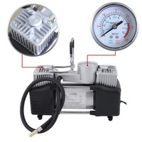 12v Air Compressor 150PSI High Power Double Cylinder Inflator Vehicles Tyre Inflation Pump Universal For Car