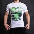 Gigante verde Tee Camiseta 3D Impresso T-shirt Dos Homens Curta manga cosplay filme traje dc slim fit aptidão clothing tops masculino
