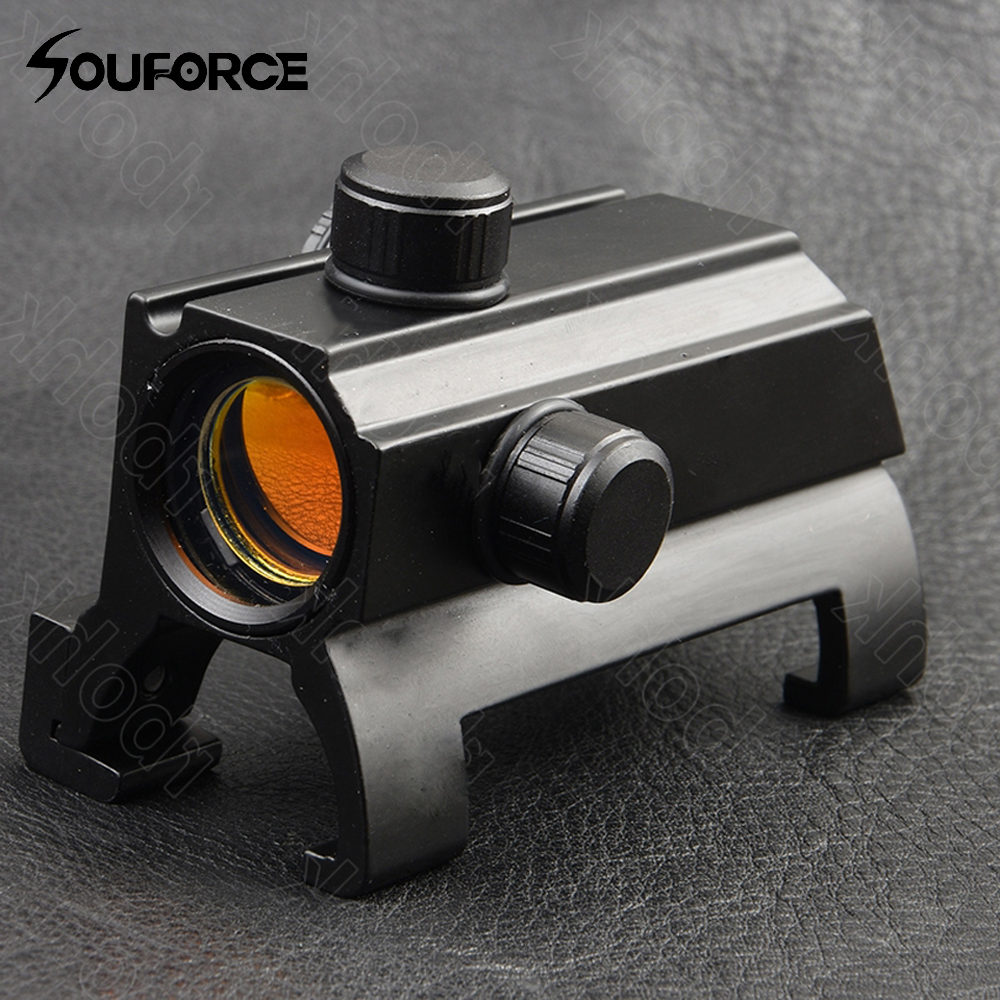 Tactical 1X25 Claw Red Dot Optical Sight Scope Rifle Weapon Sight Scopes For MP5 G3 Hunting Accessories