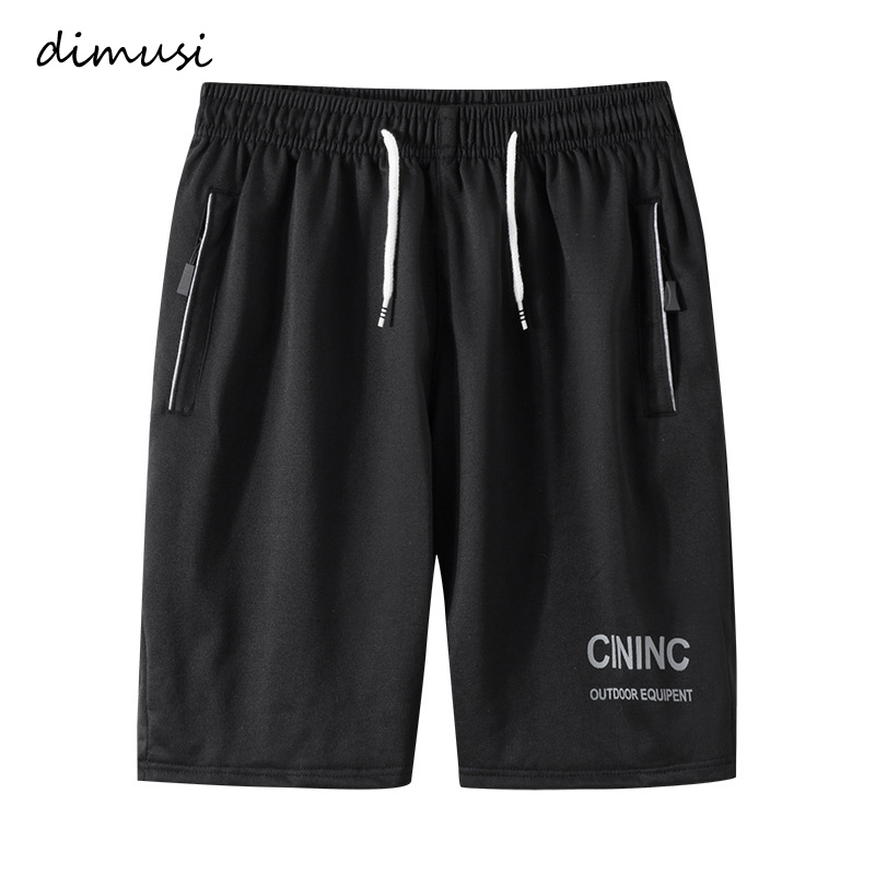DIMUSI Brand Men's Shorts Summer Male Sweatpants Fitness Bodybuilding Workout Man Fashion Breathable Elastic Waist Shorts 6XL