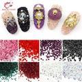1400 unids/pack 1.2mm Tiny Posterior Plana 3D Nail Art Rhinestones y Decoración de Uñas Belleza BRICOLAJE Herramientas de Manicura