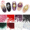 1400pcs/pack 1.2mm Tiny Flat Back 3D Nail Art Rhinestones & Decoration Nail Beauty DIY Manicure Tools