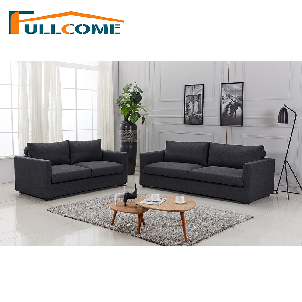 China Home Furniture Modern Leather Scandinavian Sofa Love Seat Chair Living Room Furniture Set Down Divano Sectional Sofas modern living room sofa 2 3 french designer genuine leather sofa 2 3 sectional sofal set love seat sofa 8068