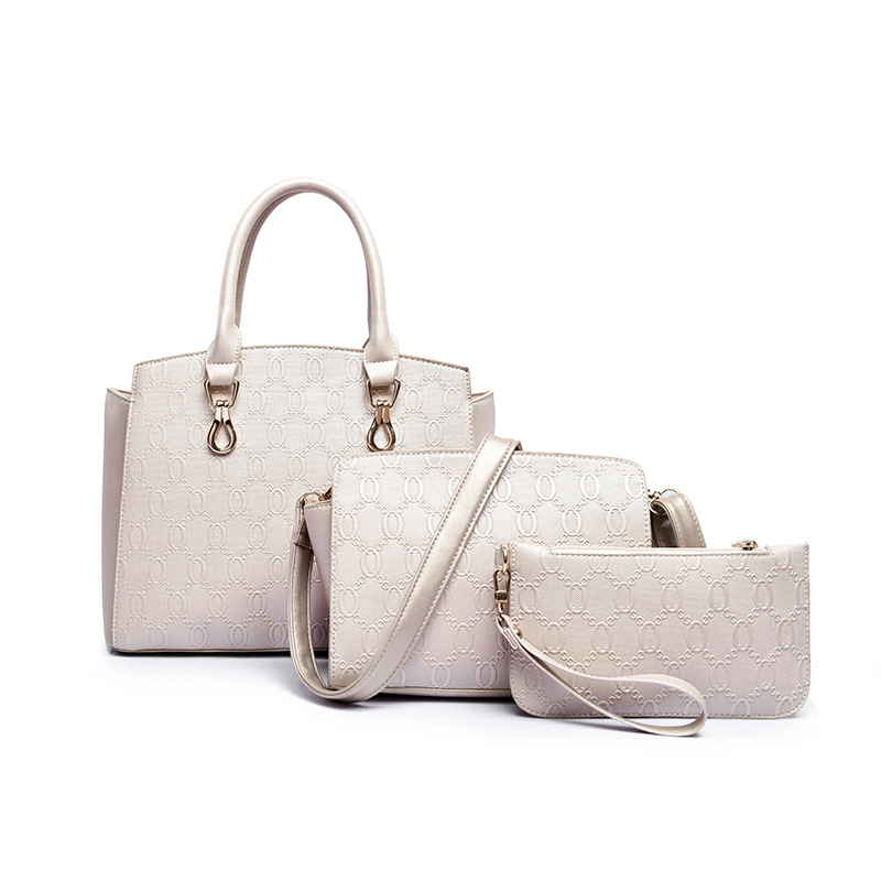 ФОТО Women Large Tote Big Lingge Embossed Shoulder Bag Ladies Composite Bag Shop Online Handbags Female Sac A Main Femme De Marque