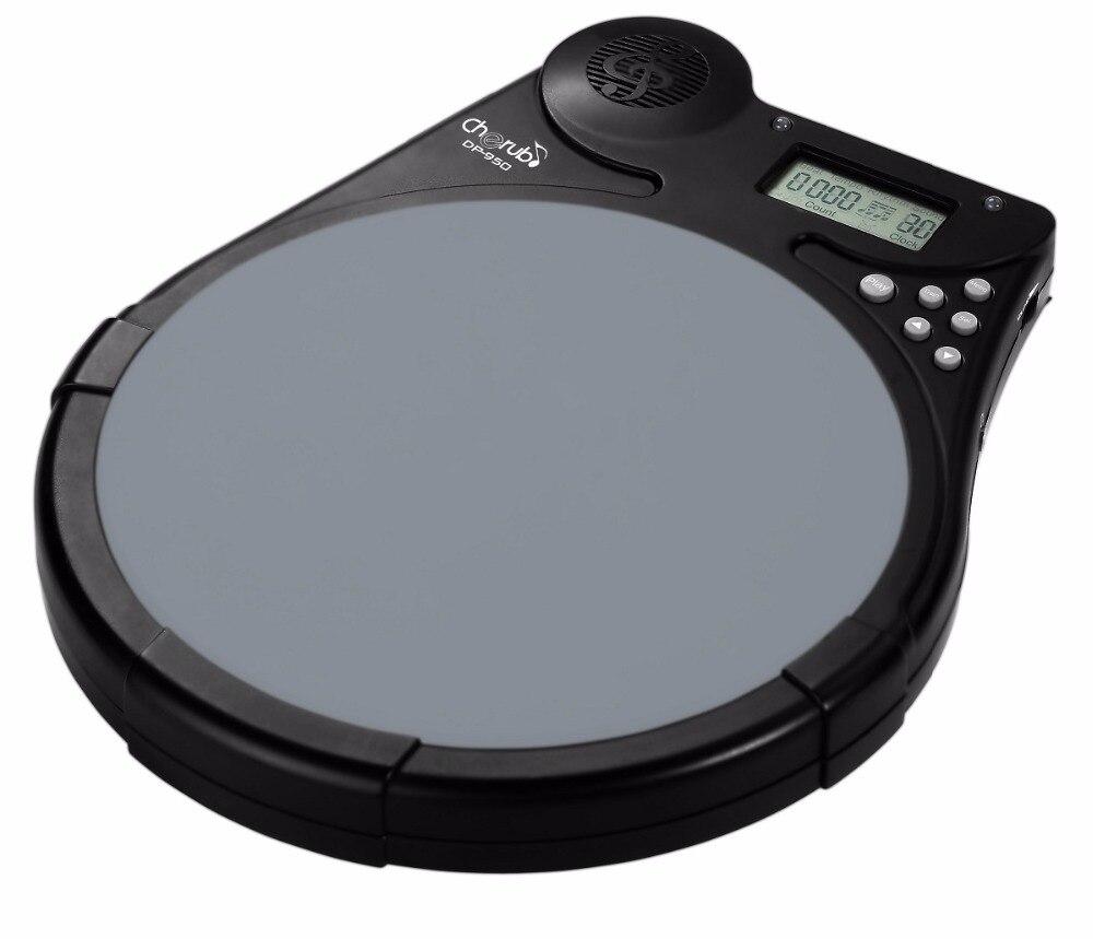 cherub dp 950 multi function electronic drum pad drum tutor digital metronome counter for. Black Bedroom Furniture Sets. Home Design Ideas