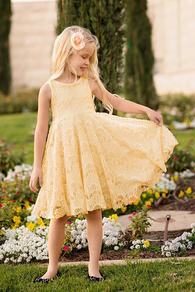 Princess Baby Girls Lace Floral Sleeveless Dress Gown Formal Party Dress 2-11Y Summer Kids Dresses for Girls Lace Princess Dress 2017 princess baby girls dress summer sleeveless floral tutu ball gown child party dresses vestidos clothes 0 7y