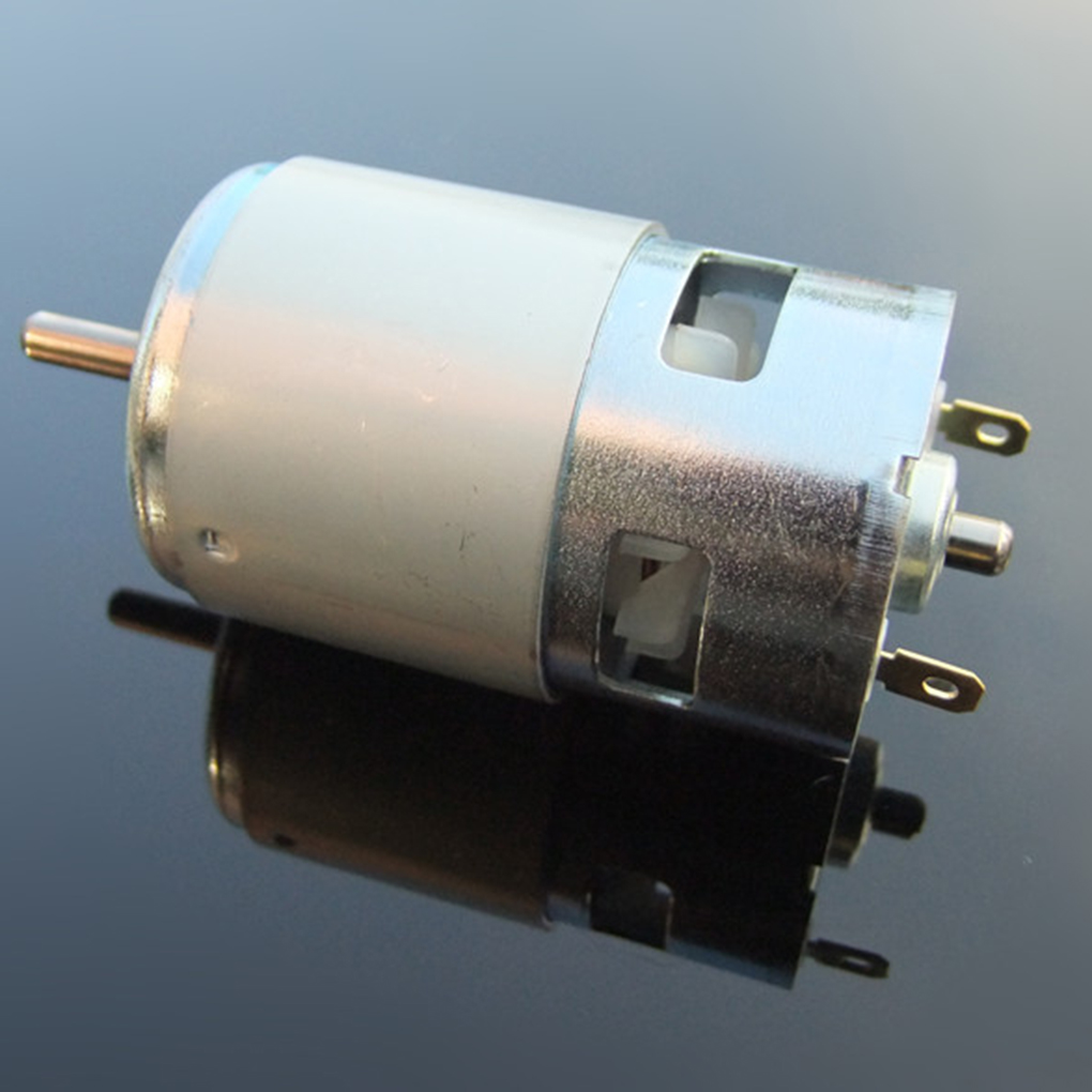 775 Motor 12V 24V 60W DC Double Ball Bearing Motor High Speed High Torque for Hair Dryer Power Tools brand dc motor ball bearing double output shaft high adjustable speed 12v for robots geared motor
