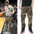 Мужская мода брюки камуфляж брюки-карго открытый спорт брюки hip hop военных грузов брюки для мужчин размер 30-38