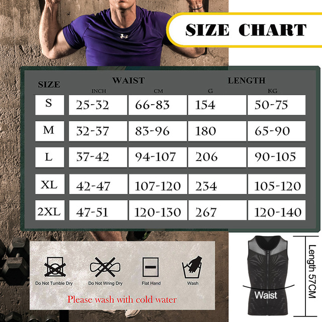 Men Shaper Corset For Man Slimming Waist Trimmer Zipper Body Shapers Control Belly Tops Abdominal Vest Waist Trainer Tummy 1