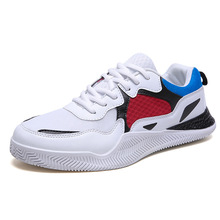 Fashion Sneakers 2019 New Men Leisure Shoes Male Tennis Casual Breathable Footwear Man Chunky