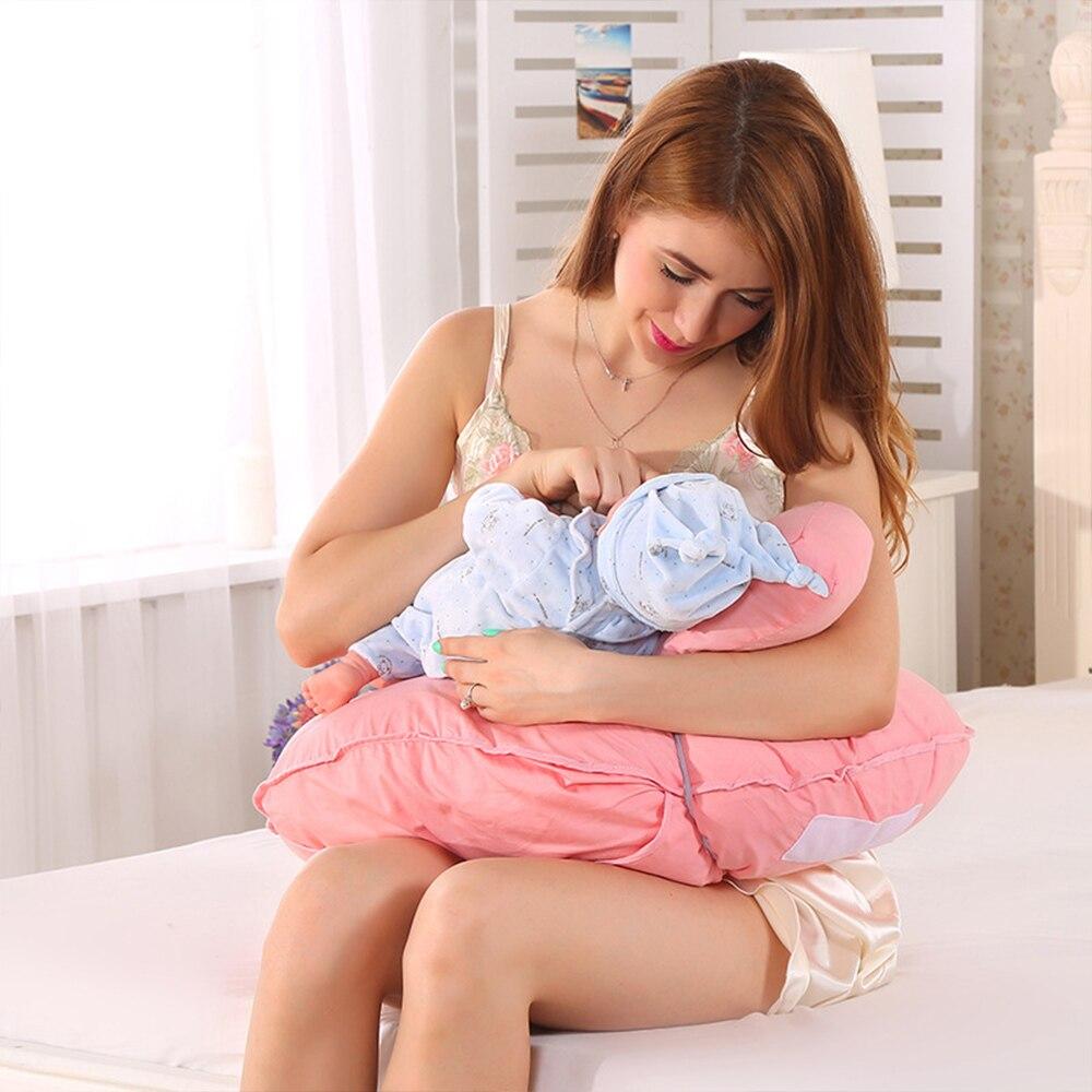 2018 Drop Shipping Breastfeeding Cushion Soft Waist Nursing Pillow Polyester Protect Breastfeeding Pillow Multifunction