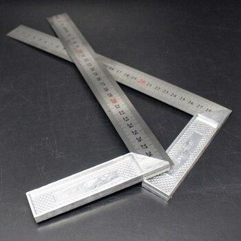 Линейка 30/50/60 см 90 градусов, метрические линейки, Столярный измерительный инструмент @ 8 JDH99