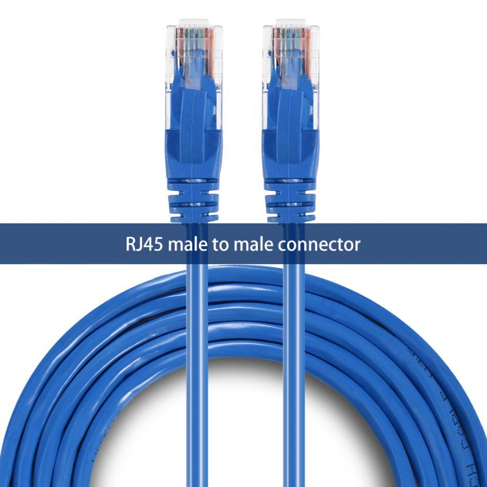 #9750 Lan câble de raccordement ligne de cordon 250 MHz RJ45 bleu Lan câble CAT 6 réseau Ethernet