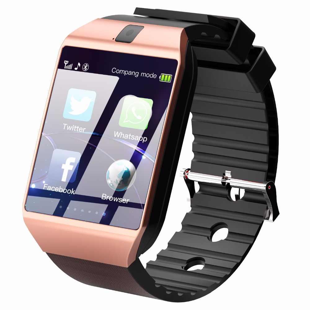 Cawono DZ09 Bluetooth スマート腕時計スマートウォッチ Relogios 腕時計 TF SIM カードカメラ iphone サムスン Huawei 社の Android 電話 PK Y1 q18