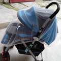 2015 New White Baby Children Buggy Pram Pushchair Mosquito Net Fly Midge Insect Bug Cover Infant Stroller Protector ST012