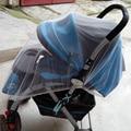 2015 New White Crianças Carrinho De Bebê Carrinho De Bebê Carrinho de Bebê Carrinho de Bebé Mosquito Net Fly Midge Insect Bug Capa Protector ST012