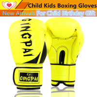 High Quality PU Leather Child Kids Boys Girls Boxing Glove Sparring Mittens Glove Training Punching Bag