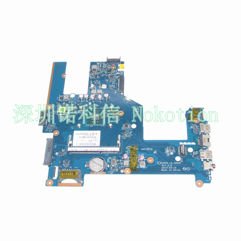 NOKOTION 788287-501 788287-001 For Hp 15 15-R 15T-R 15-S Laptop Motherboard ZSO50 LA-A994P DDR3 N3540 CPU 815248 501 main board for hp 15 ac 15 ac505tu sr29h laptop motherboard abq52 la c811p uma celeron n3050 cpu 1 6 ghz ddr3