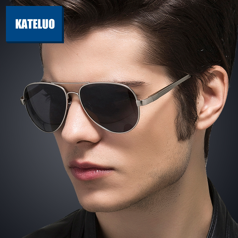 Brand Men's Sun Glasses Stainless Steel Polarized Lens Sunglasses Male Eyewear Accessories For Men oculos de sol masculino 1129