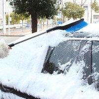 New Arrival 2017 Car Vehicle Snow Ice Scraper SnoBroom Snowbrush Shovel Removal Brush Winter