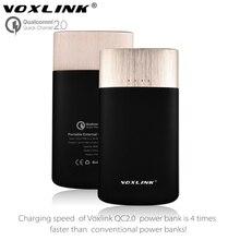 [ Qualcomm сертифицированный ] VOXLINK двойной 9000 мАч быстрое зарядное устройство 2.0 зарядное устройство портативный аккумулятор Powerbank зарядное устройство для Samsung LG