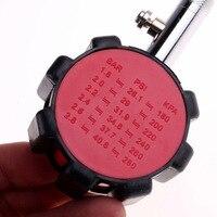 Medidor de presión de neumáticos de automóviles Digital manómetro probador LCD PSI KPA BAR Durable para coches camiones M8617