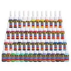 Tattoo 54 Colors Tattoo Ink Set 5ml/Bottle жидкость tattoo energy 30мл 0мг
