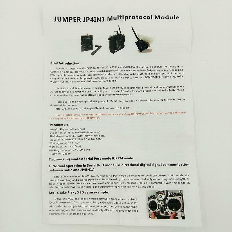 FrSky XJT 2 4G S Port JR/Graupner Type 16ch Duplex Telemetry Module 2 4ghz  upgrade Jr  